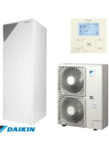 Daikin Altherma ERLQ011CW1 / EHVX11S26CB9W levegő - víz hőszivattyú