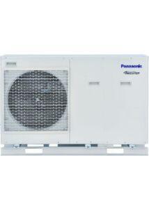 Panasonic Aquarea All In One T-Cap KIT-WH-MXC09H3E8 monoblokk 3 fázisú levegő-víz hőszivattyú - 9 kW