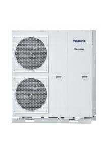 Panasonic Aquarea T-CAP WH-MXC12H9E8 3 fázisú monoblokk levegő-víz hőszivattyú - 12 kW