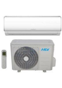 MDV RAG-026B-SP / RAG-026B-OU oldalfali split klíma - 2.6 kW