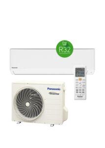 Panasonic SUPER COMPACT KIT-TZ35-WKE oldalfali inverteres klíma - 3.5 kW