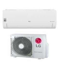 LG Silence 2 S09ET Oldalfali inverteres split klíma szett - 2.6 kW