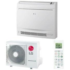 LG Konzol UQ09F/UUA1 Standard Parapetes / Padlón Álló Inverteres Split Klíma Csomag - 2.6 kW