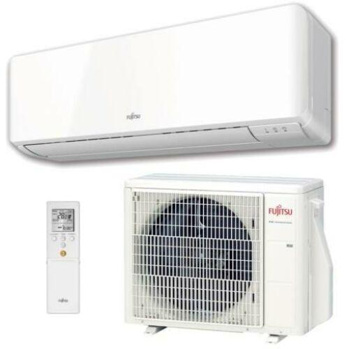 Fujitsu Standard KM sorozat ASYG24KMTA/AOYG24KMTA oldalfali split klíma - 7.1 kW
