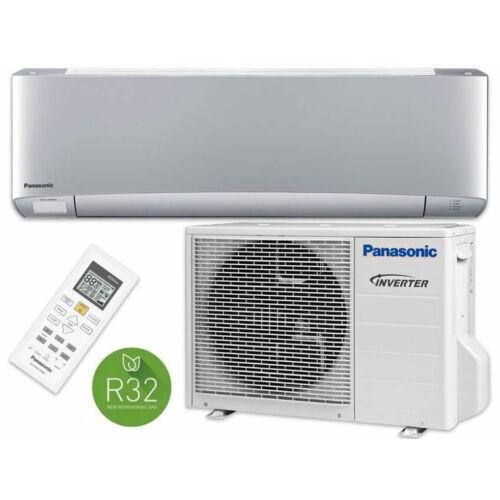 Panasonic XZ ETHEREA KIT-XZ20-XKE ezüst 2021 oldalfali inverteres klíma - 2,4 kW