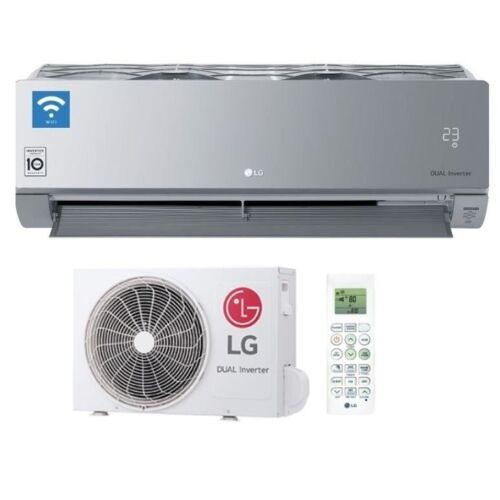 LG Art Cool Silver AC09SQ inverteres split klíma szett - 2.6 kW