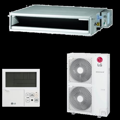 LG UM36F/UUD3 Standard (3 fázis) Légcsatornázható Split Klíma Csomag - 10 kW