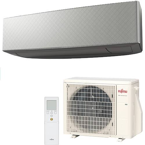 Fujitsu Design KE ASYG14KETA-B / AOYG14KETA Gray inverteres split klima - 4.2 kW