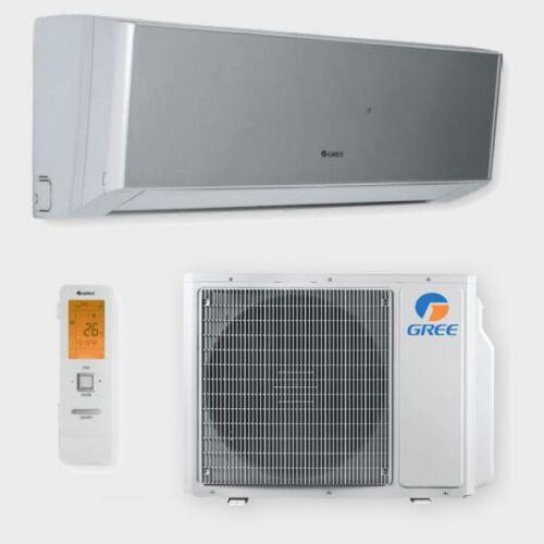 Gree Amber Grey GWH09YC oldalfali inverteres klíma szett FŰTÉSRE - 2.7 kW