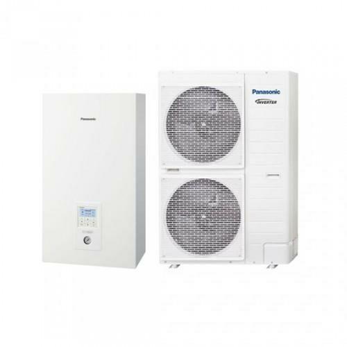 Panasonic AquareaT-CAP WH-UX09HE5/WH-SXC09H3E5 1 fázisú osztott levegő-víz hőszivattyú - 9 kW