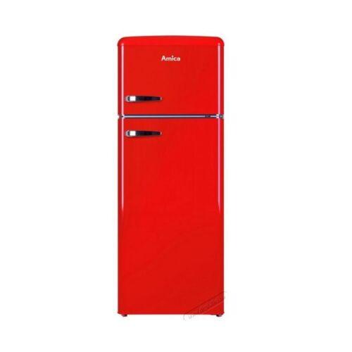 Amica KGC 15630 R felülfagyasztós hűtőszekrény, A++ piros