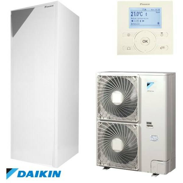 Daikin Altherma EHVX16S26CB9W Fűtő-hűtő hőszivattyú beltéri egység 260L tartállyal