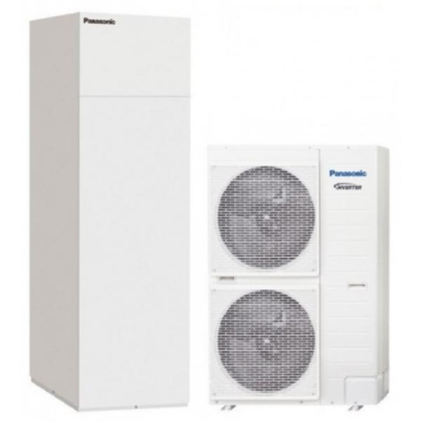 Panasonic T-CAP WH-UX16HE8/WH-ADC0916H9E8 3 fázisú osztott levegő-víz hőszivattyú - 16 kW
