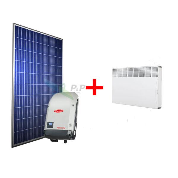 Solar Super 1 fázisú Galvo napelem csomag, cseréptetőre, 1.5kW + Atlantic F17 elektromos konvektor