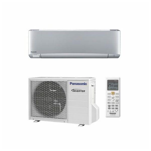 Panasonic XZ ETHEREA KIT-XZ25-VKE oldalfali inverteres klíma - 2.5 kW Ezüst