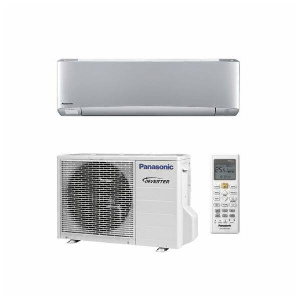 Panasonic XZ ETHEREA KIT-XZ50-VKE oldalfali inverteres klíma - 5 kW Ezüst