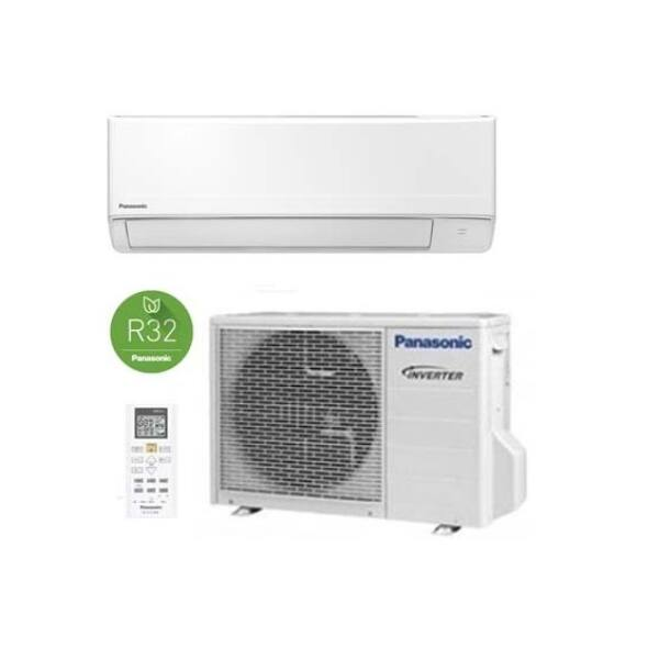 Panasonic KIT-FZ25-WKE Standard oldalfali inverteres klíma - 2.5 kW